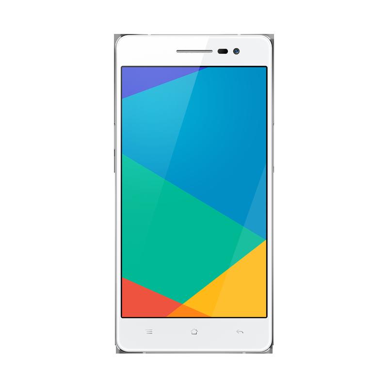 OPPO R3银色电信4G手机正面