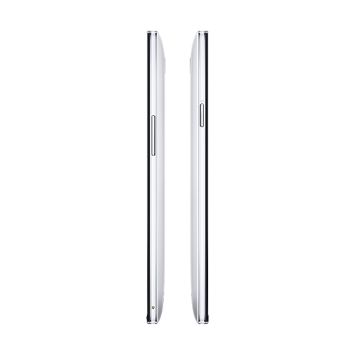 OPPO Find 7白色移动4G手机侧面