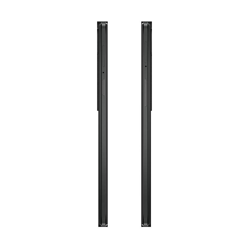 OPPO R3移动黑色4G手机侧面